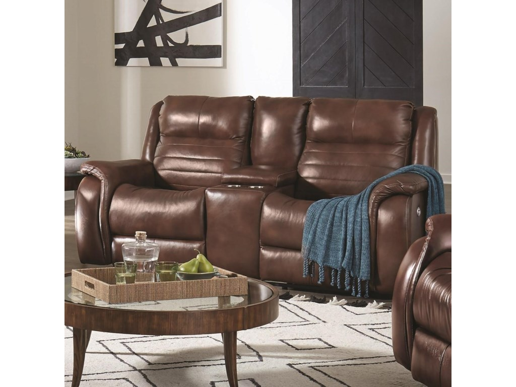 Southern Motion EssexConsole Power Loveseat
