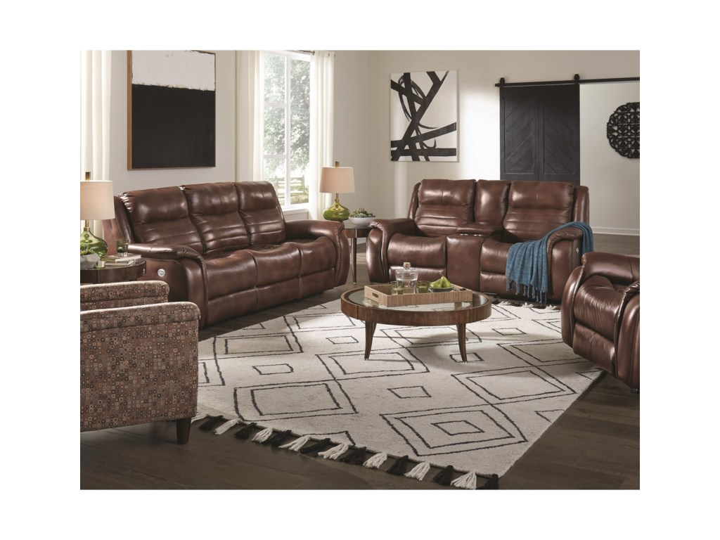 Southern Motion EssexDouble Reclining Sofa