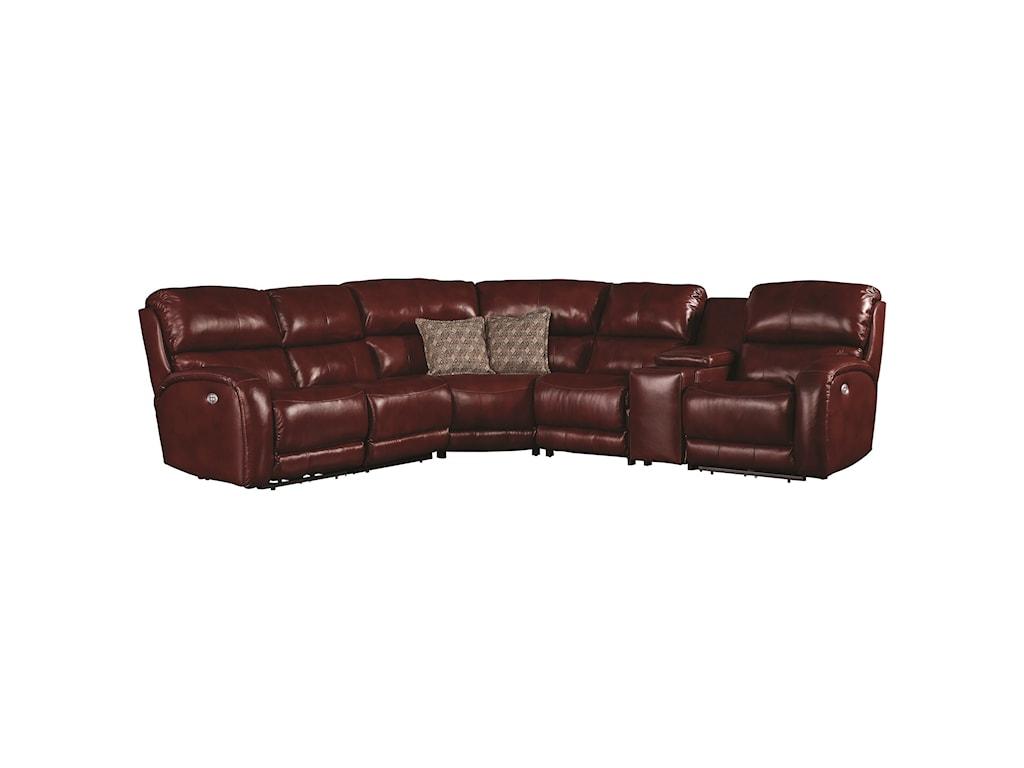 Southern Motion Fandango 884Power Reclining Sofa
