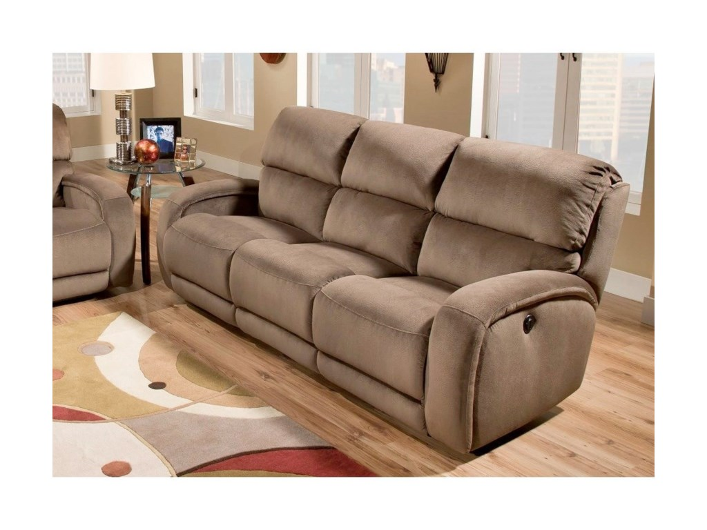 Southern Motion FandangoPower Headrest Reclining Sofa SoCozi