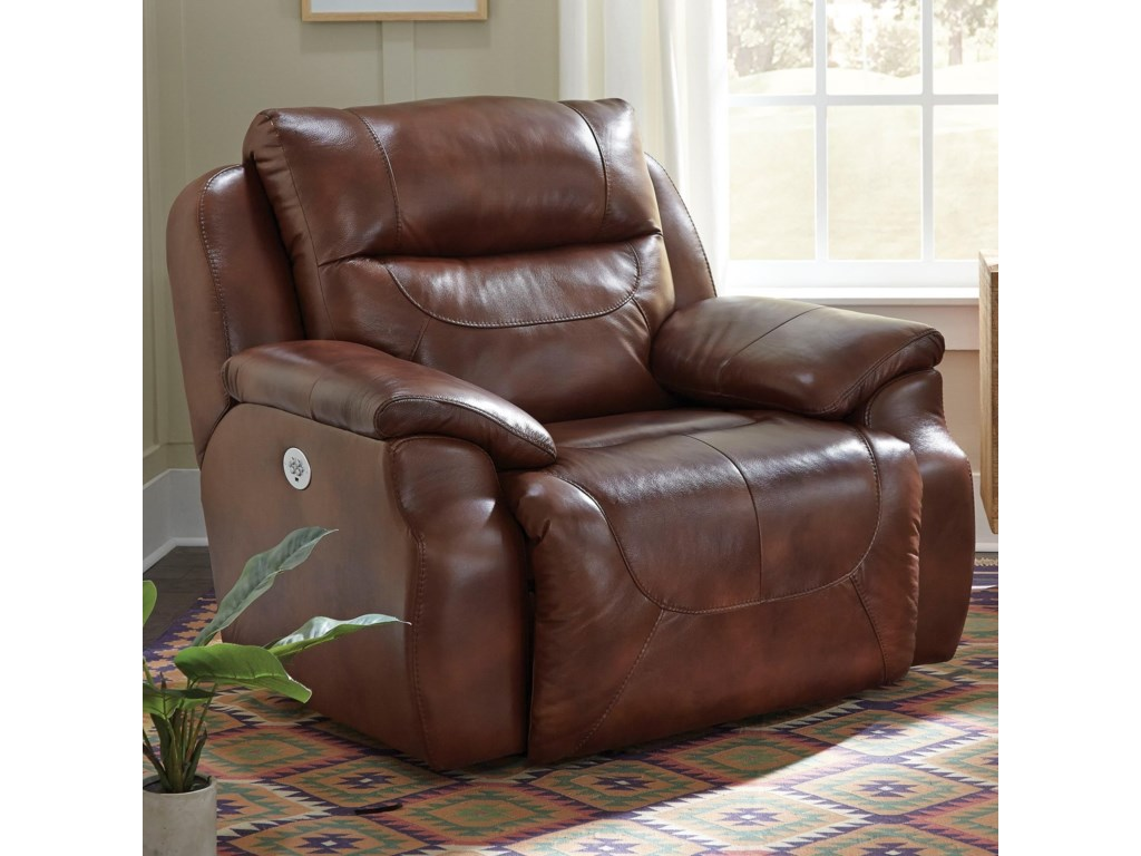 Southern Motion Five StarPower Headrest Reclining Chair and a Half