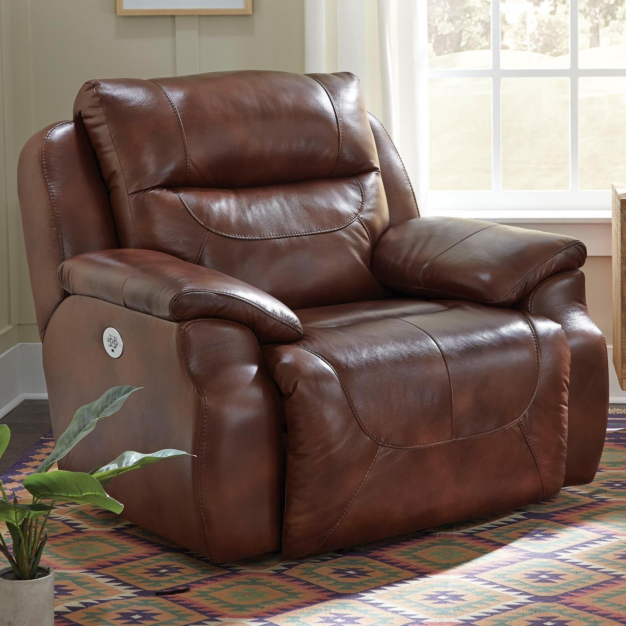 Southern Motion Five StarPower Headrest Reclining Chair And A Half ...