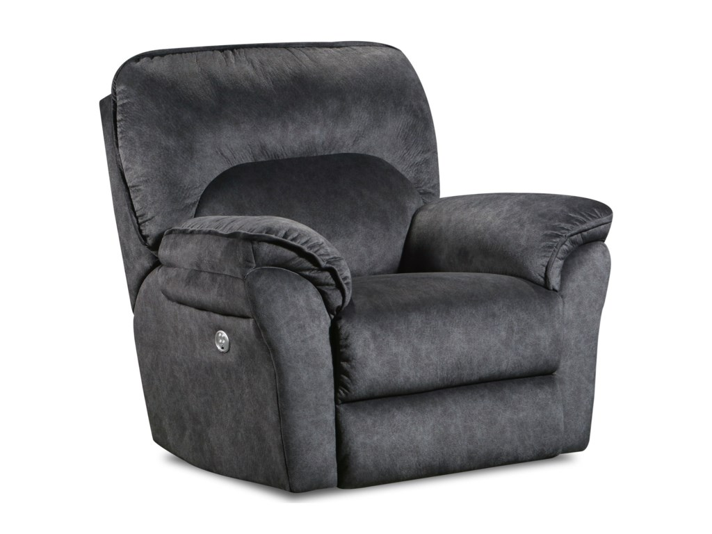 Southern Motion Full RidePower Headrest Rocker Recliner w/ SoCozi