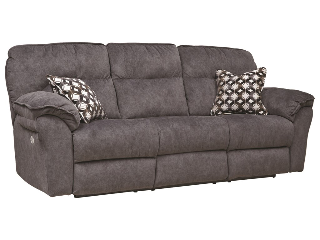 Southern Motion Full RideDouble Reclining Power Sofa