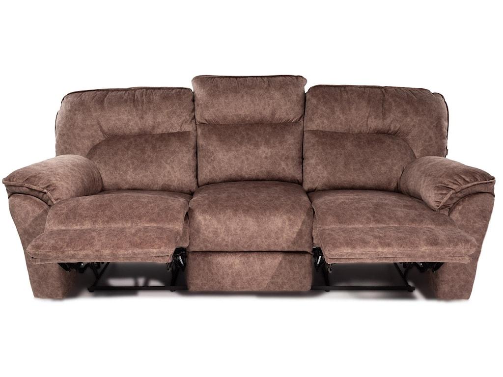 Design to Recline MiaDouble Reclining Sofa