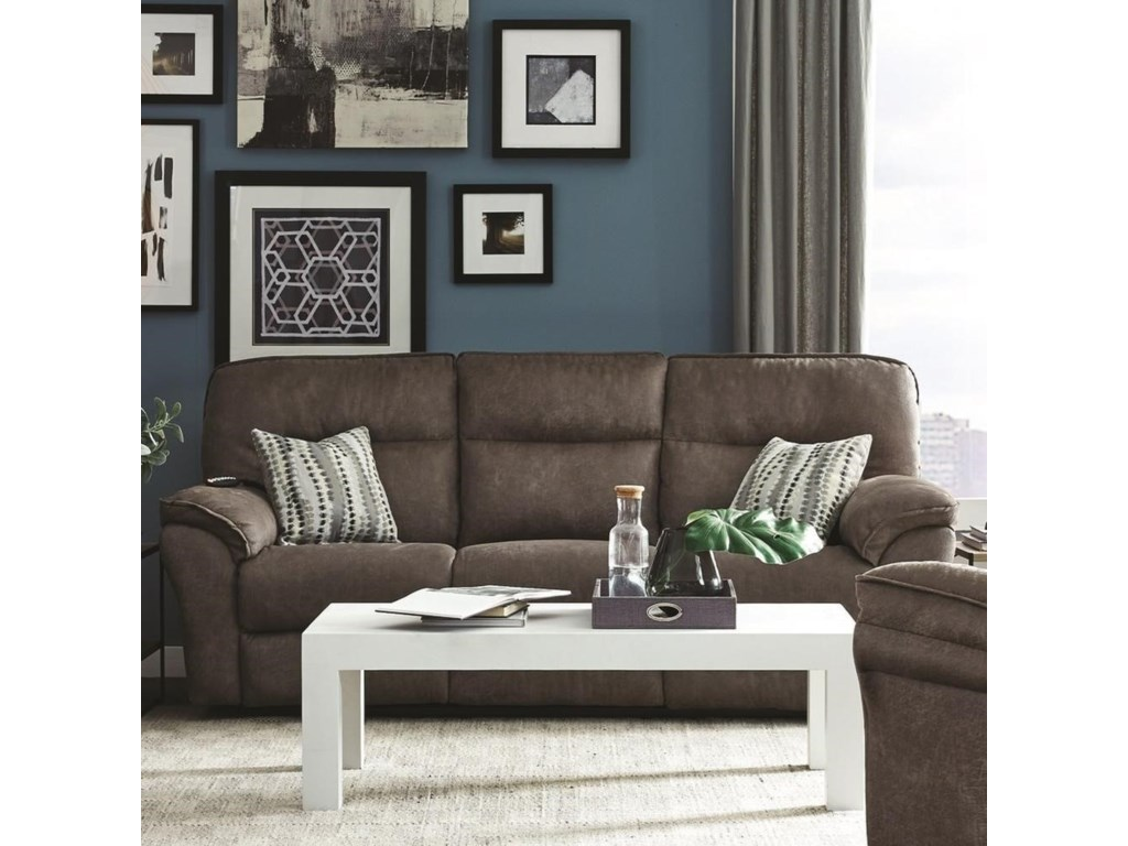 Southern Motion Full RideDouble Reclining Sofa