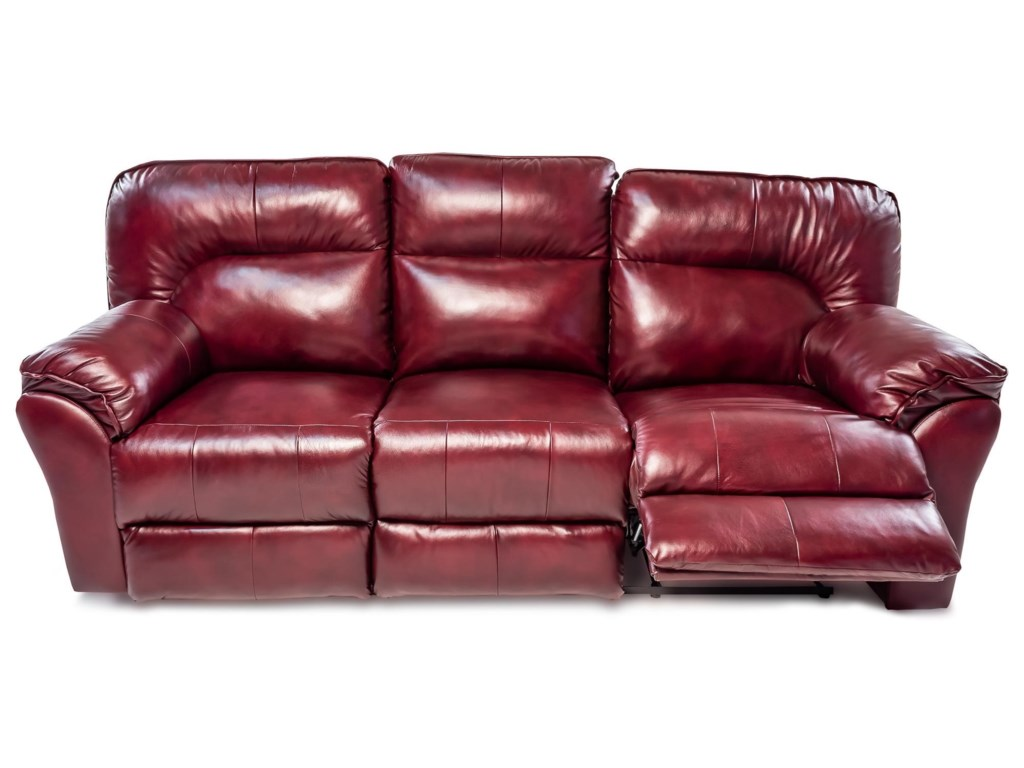 Design to Recline MiaDouble Reclining Leather Sofa