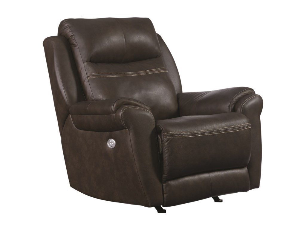 Southern Motion Gold MedalPower Headrest Rocker Recliner w/ SoCozi