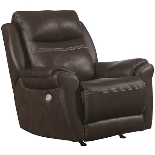 Southern Motion Gold Medal Rocker Recliner with Pillow Arms