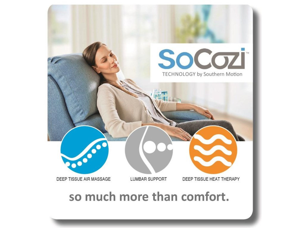 Southern Motion Gold MedalPower Recliner with SoCozi Technology