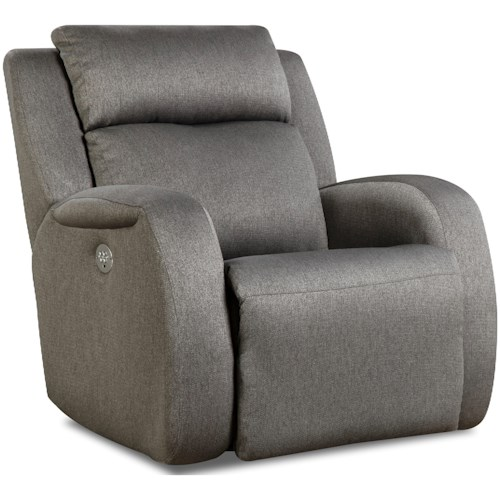 Southern Motion Grand Slam Wall Hugger Recliner with Power Headrest
