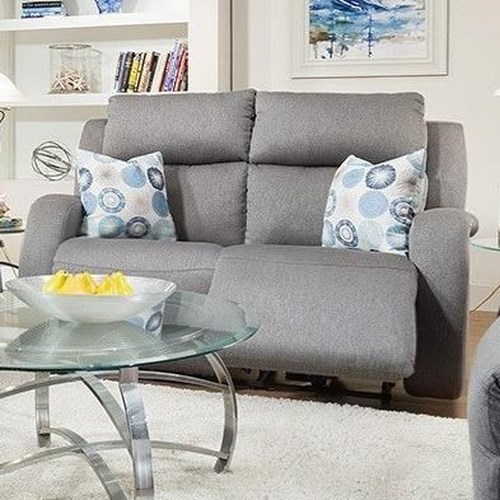 Design to Recline Grand Slam Double Reclining Loveseat