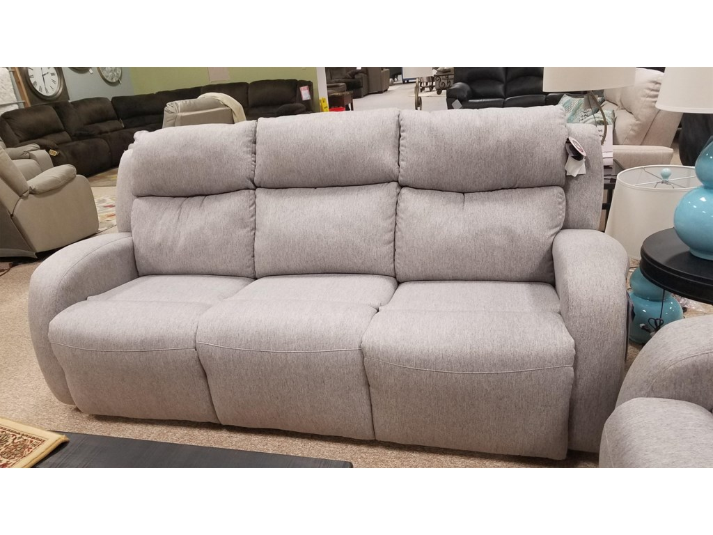 Southern Motion Grand Slam Reclining Sofa With Headrest
