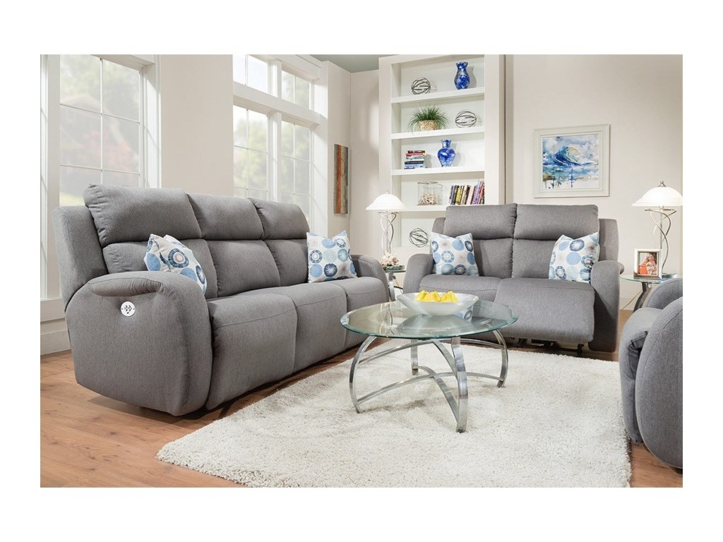 Southern Motion Grand SlamReclining Living Room Group