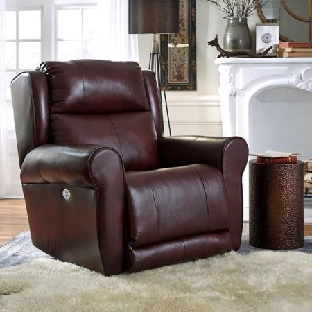 Power Headrest Big Man's Recliner w/ SoCozi