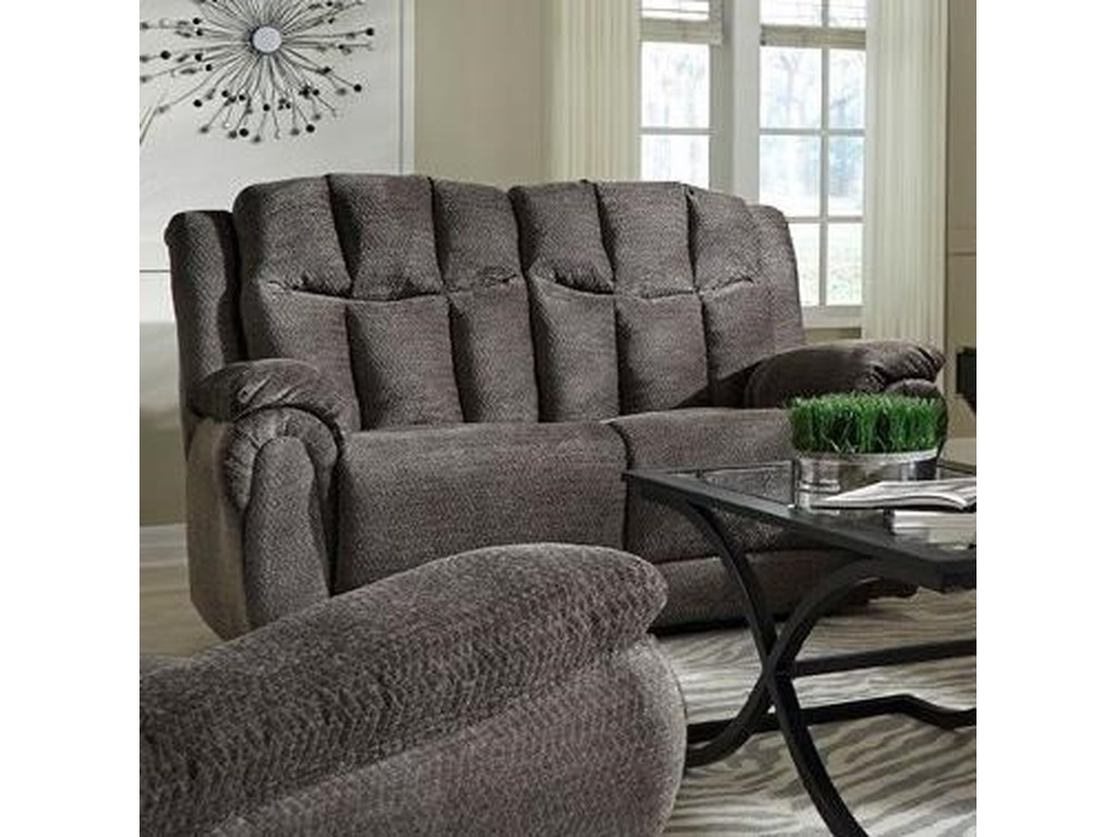 Southern Motion High ProfileDouble Reclining Loveseat