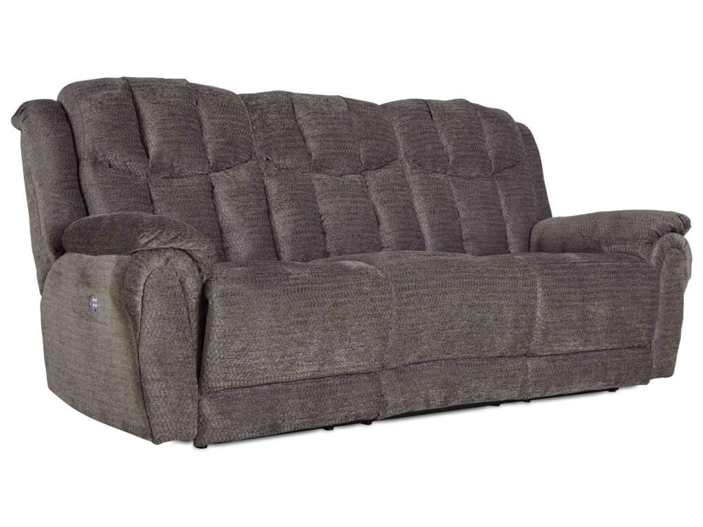 Southern Motion High ProfileSofa with 3 Recliners