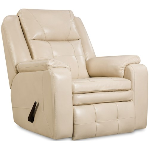 Southern Motion Inspire Wall Hugger Recliner with Power Headrest
