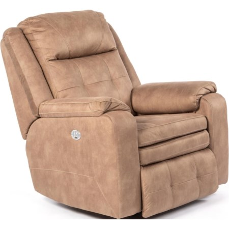 Power Headrest Rocking Recliner