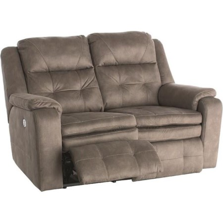 Power Headrest Reclining Loveseat