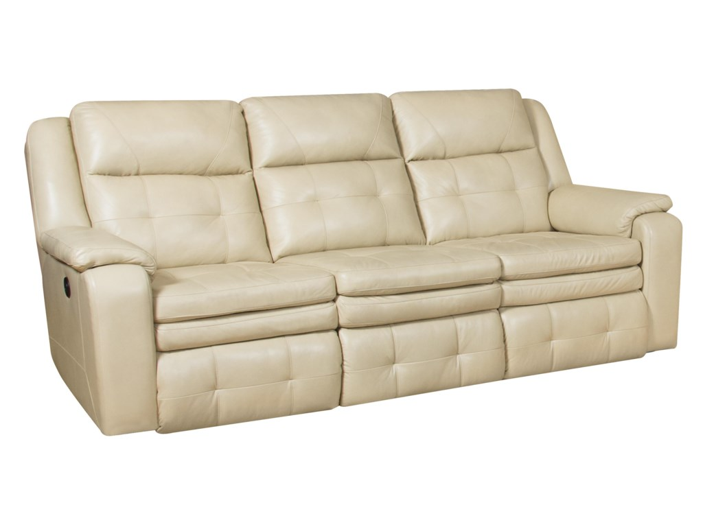 Southern Motion InspireDouble Reclining Sofa with Power Headrest
