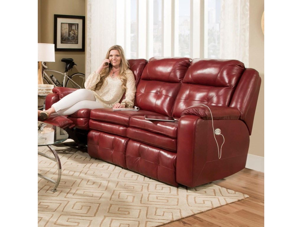 Southern Motion InspirePower Headrest Reclining Sofa