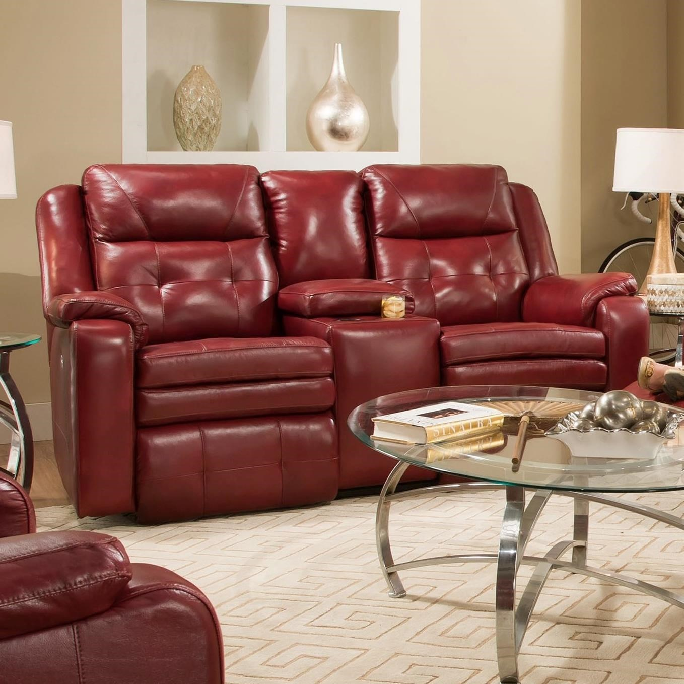 southern motion inspire reclining console loveseat with power rh miskellys com