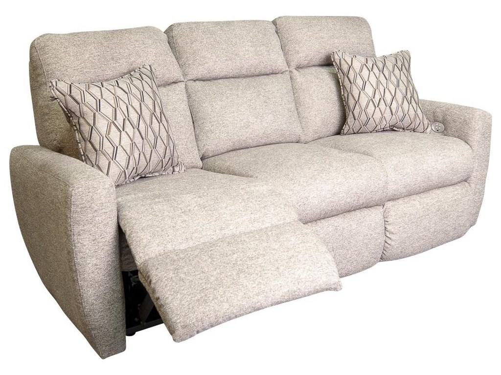 Morris Home KaleeKalee Power Reclining Sofa w/ Power Headrest
