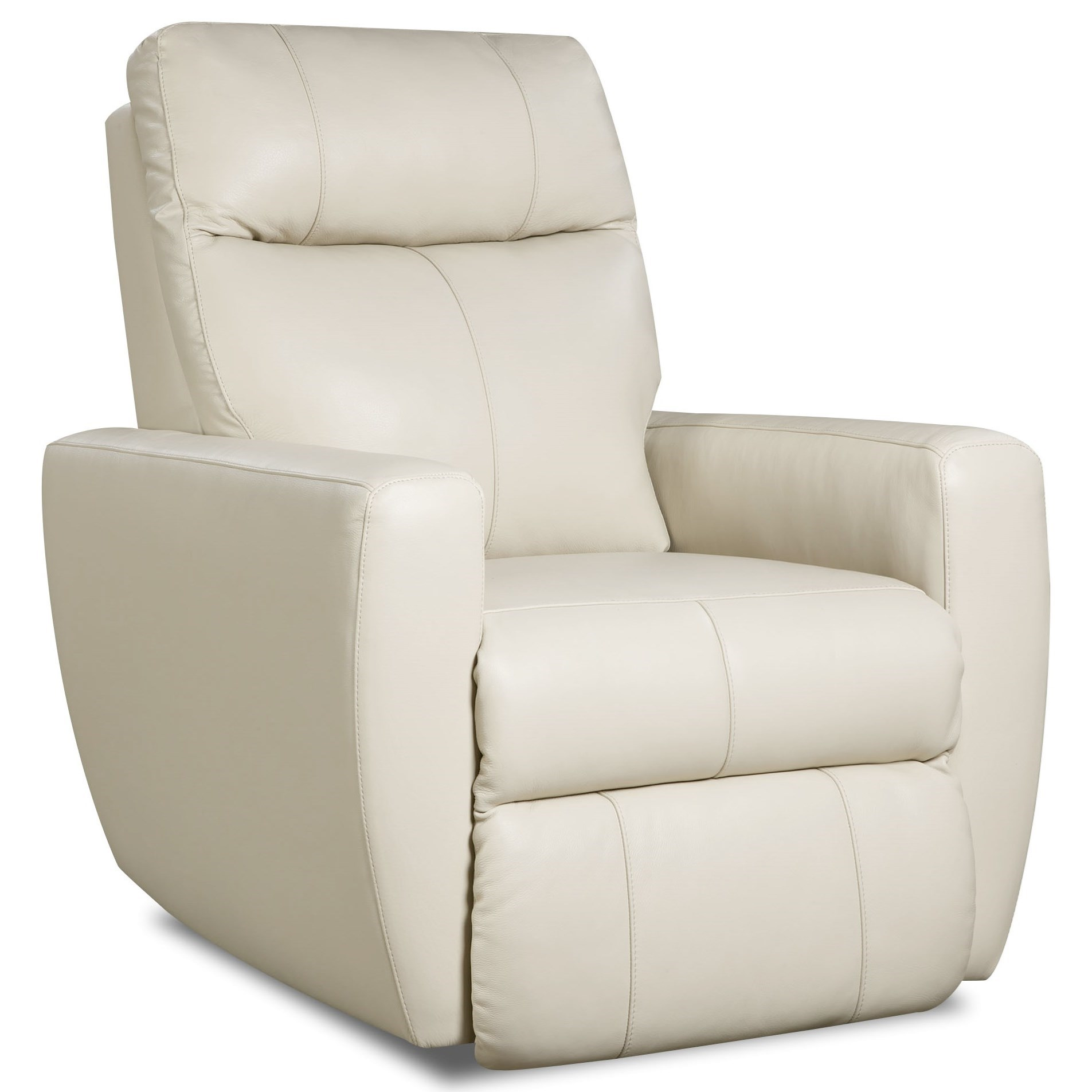 knock out wall hugger recliner with power headrest by southern motion