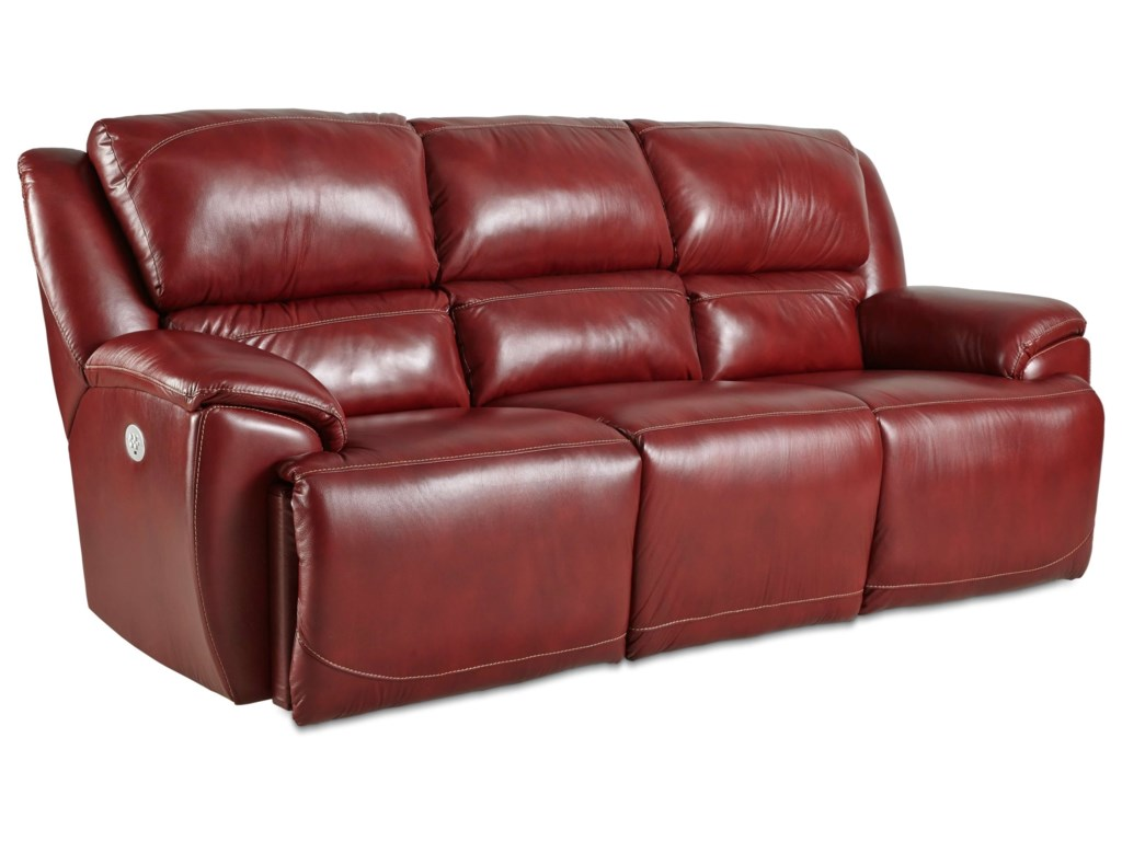 Southern Motion MajesticDouble Reclining Sofa with Power Headrests