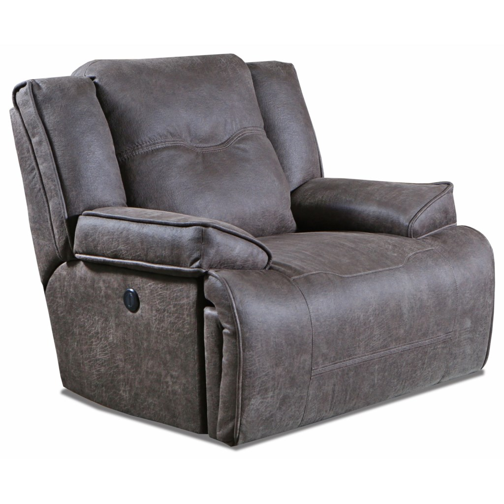 Southern Motion Major League Oversize Power Recliner With Power