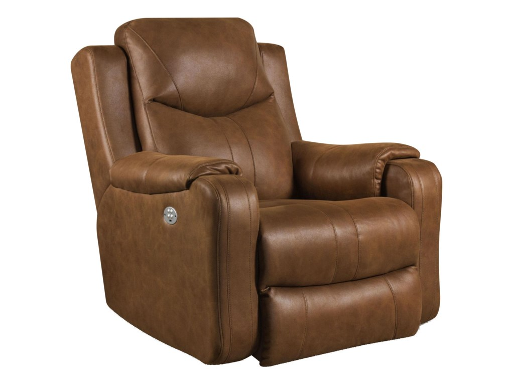 Southern Motion MarvelRocker Recliner with Power Headrest