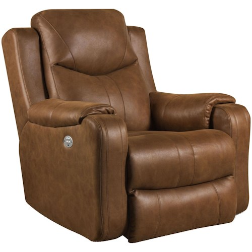Southern Motion Marvel Wall Hugger Recliner with Power Headrest