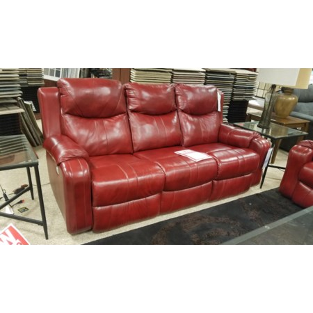 Double Reclining Sofa with Power Headrests