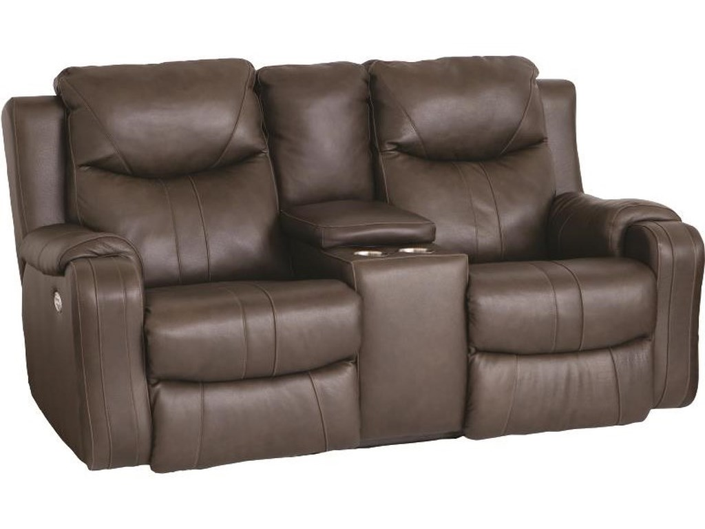 Southern Motion Marvel Dual Reclining Power Console Loveseat With