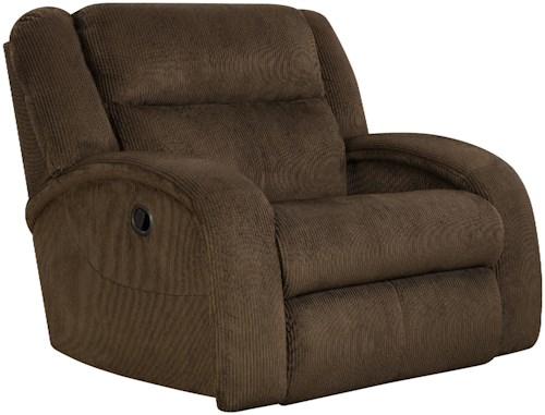 Southern Motion Maverick  Recliner Chair and a Half with Contemporary Style