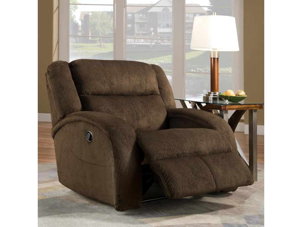 Southern Motion Maverick Power Recliner Chair and a Half