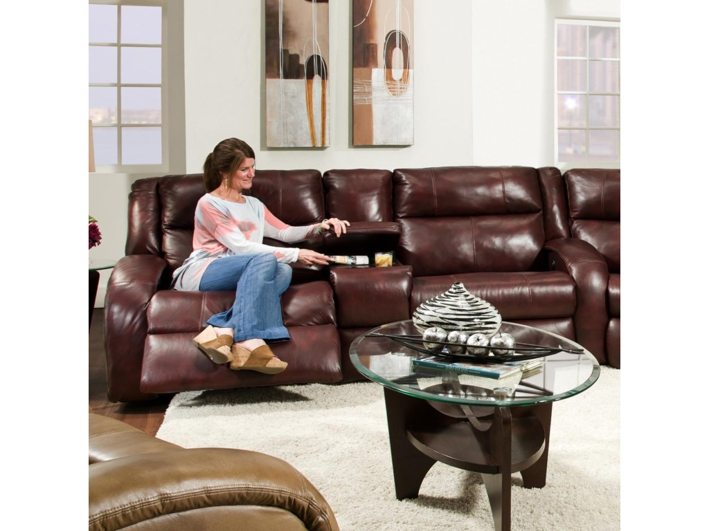 Southern Motion MaverickConsole Sofa