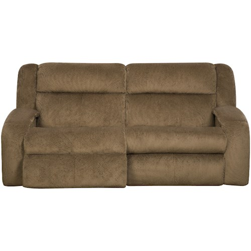 Southern Motion Maverick  Reclining Sofa with Contemporary Style