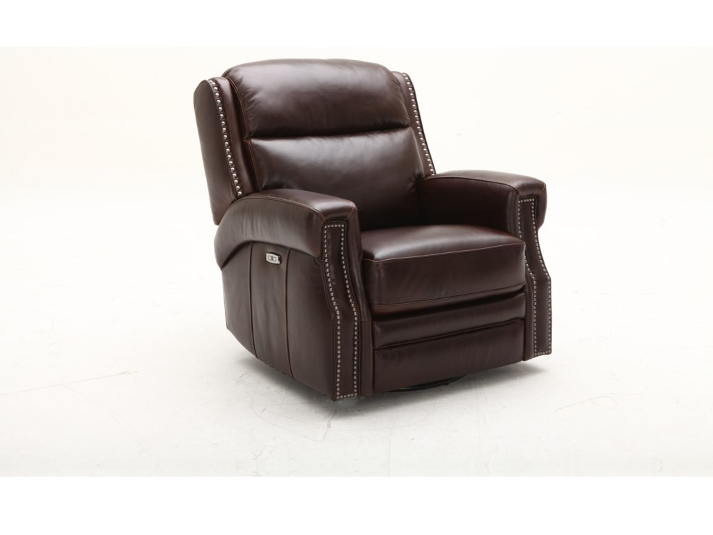 Southern Motion MaxwellSwivel Glider Power Headrest Recliner
