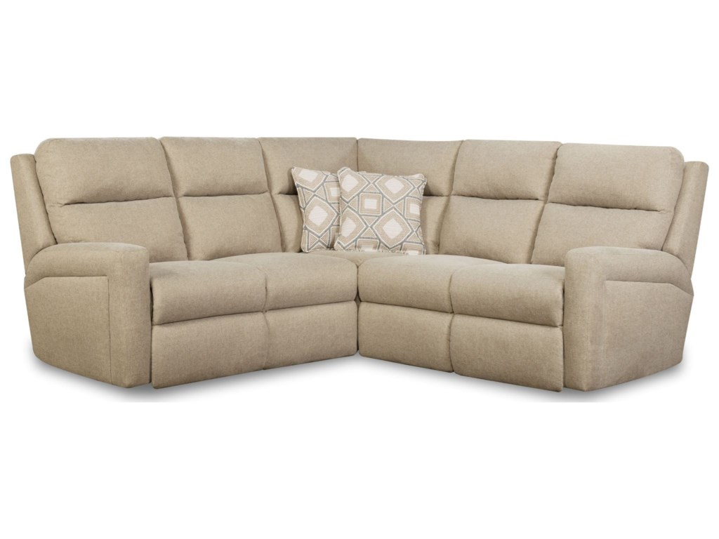 Southern Motion Metro Contemporary Power Reclining Sectional ...