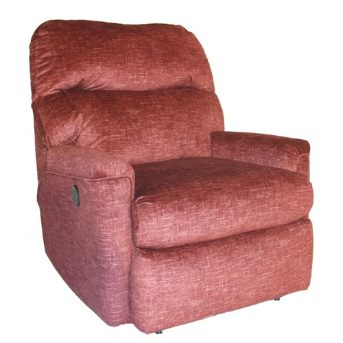Southern Motion Opal Casual Small Power Plus Rocker Recliner