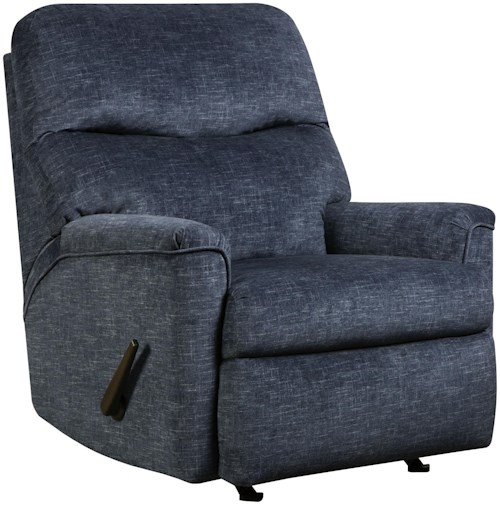 Southern Motion Opal Casual Small Rocker Recliner