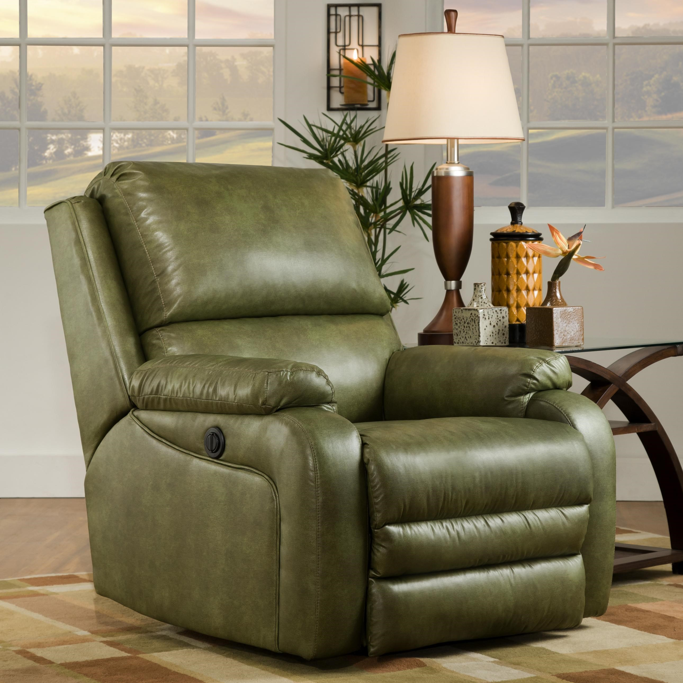 ... Recliner Shown May Not Represent Exact Features Indicated  sc 1 st  Johnny Janosik & Southern Motion Ovation Contemporary American Made Rocker Recliner ... islam-shia.org