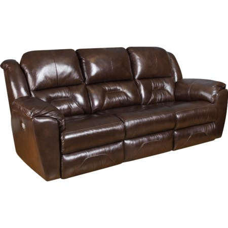 Reclining Sofa with Power Headrests