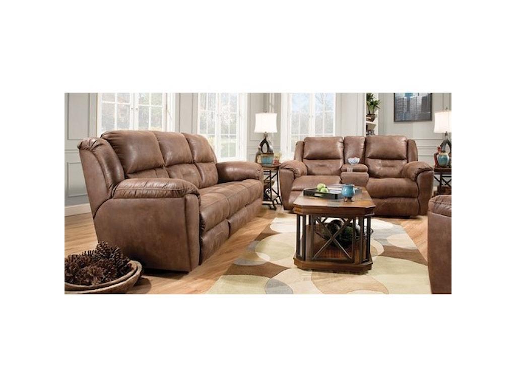 Southern Motion Pandorareclining Sofa