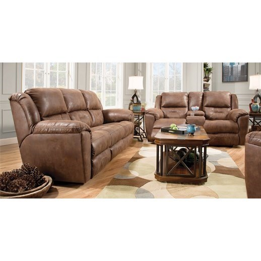 ... Southern Motion PandoraReclining Sofa With Power Headrests