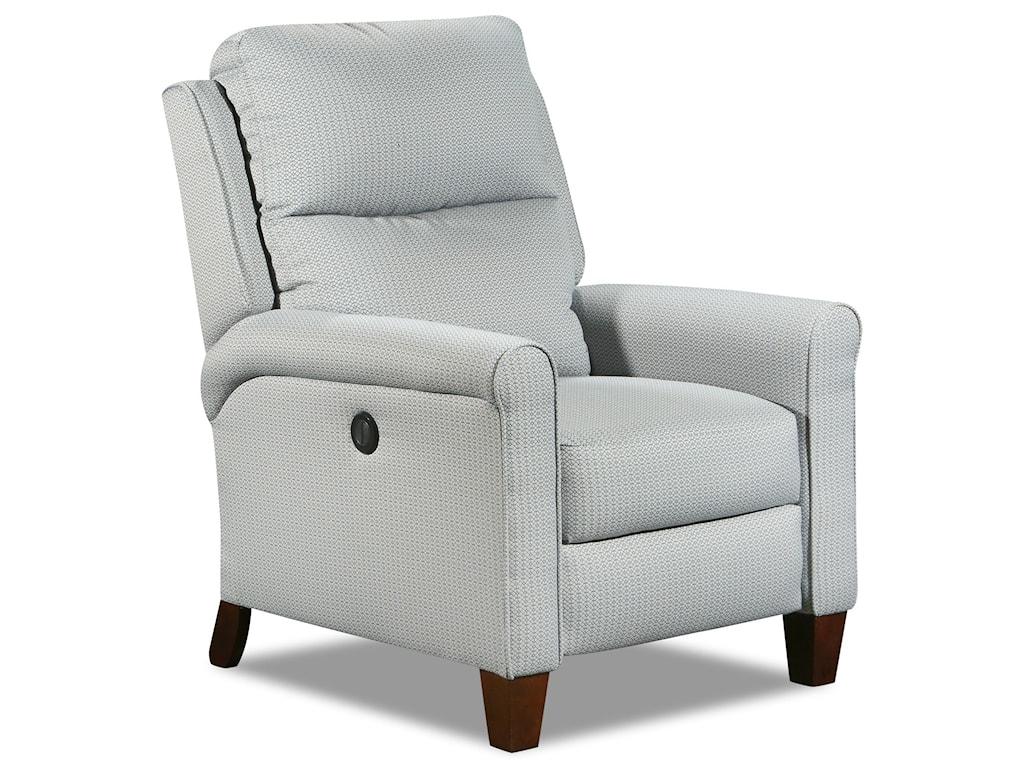 Southern Motion Pep TalkPower Headrest High Leg Recliner Lumbar