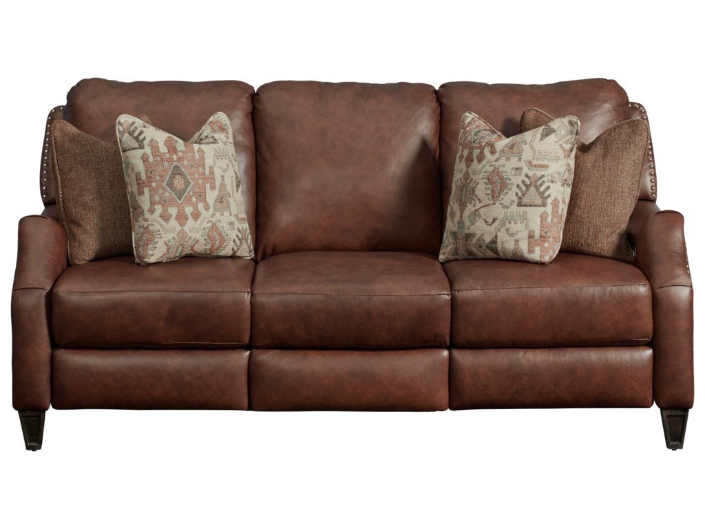 Southern Motion Primrose ParkWireless Power Headrest Sofa with Pillows