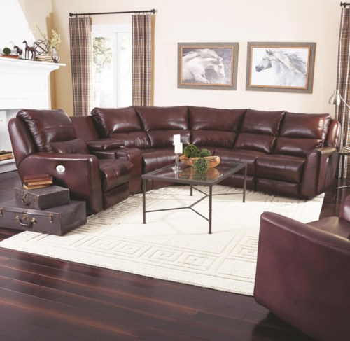 Cool Southern Motion Producer Reclining Sectional Sofa with 5 Seats no chaise Simple - Elegant Reclining sofa Sectional Plan